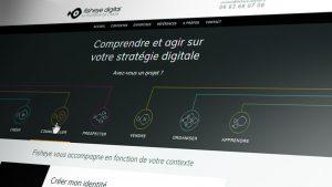Création de site pour une agence de web-marketing