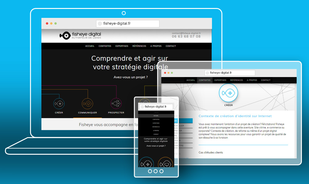Developpement du site WordPress