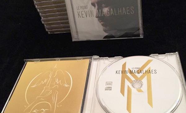 Création de la pochette cd pour un album