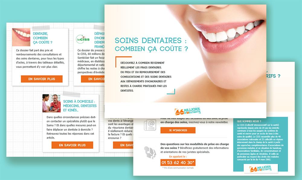 Fiche sur les soins dentaires
