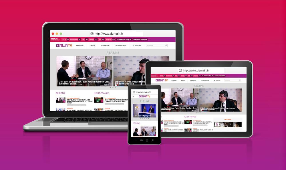 Site Responsive adapté à tout écran