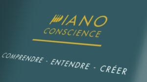 Création de logo d'école de piano