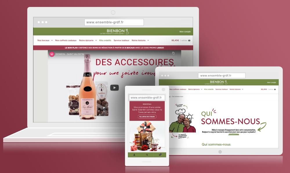 Création de site Ecommerce WordPress