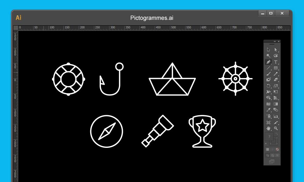 Création de pictogrammes